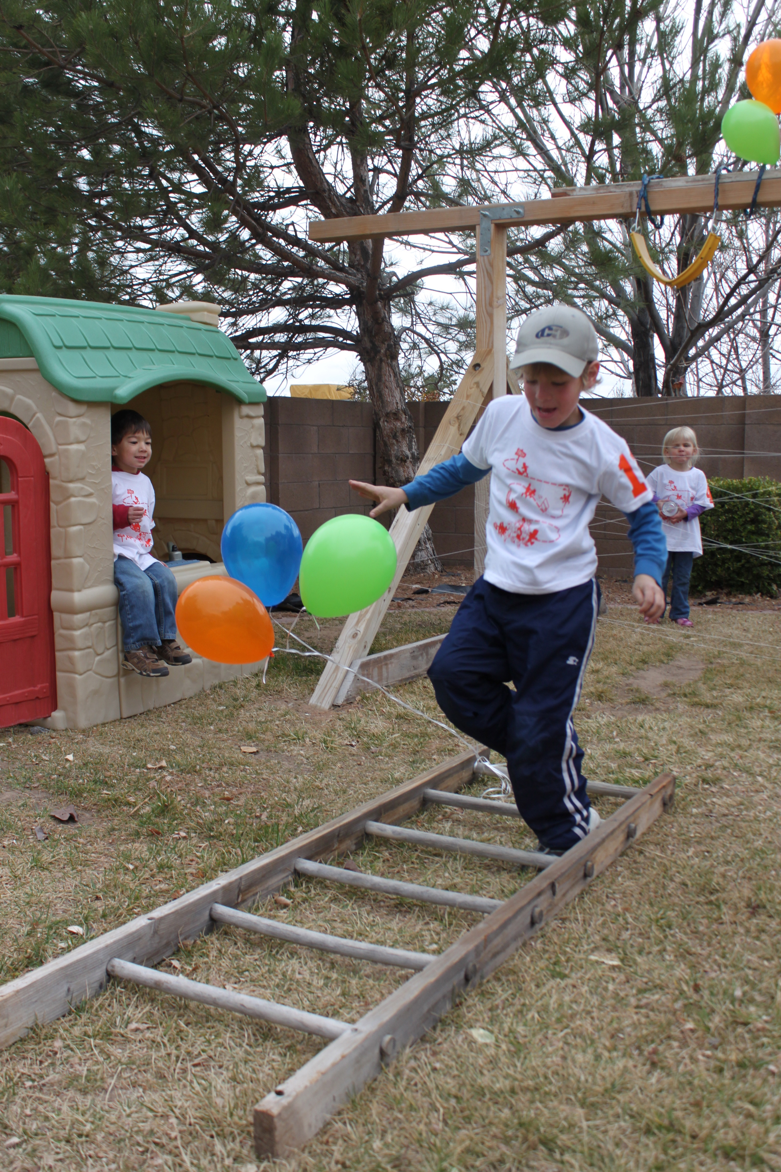 jackson u0027s big 6 obstacle course birthday party the buck family blog